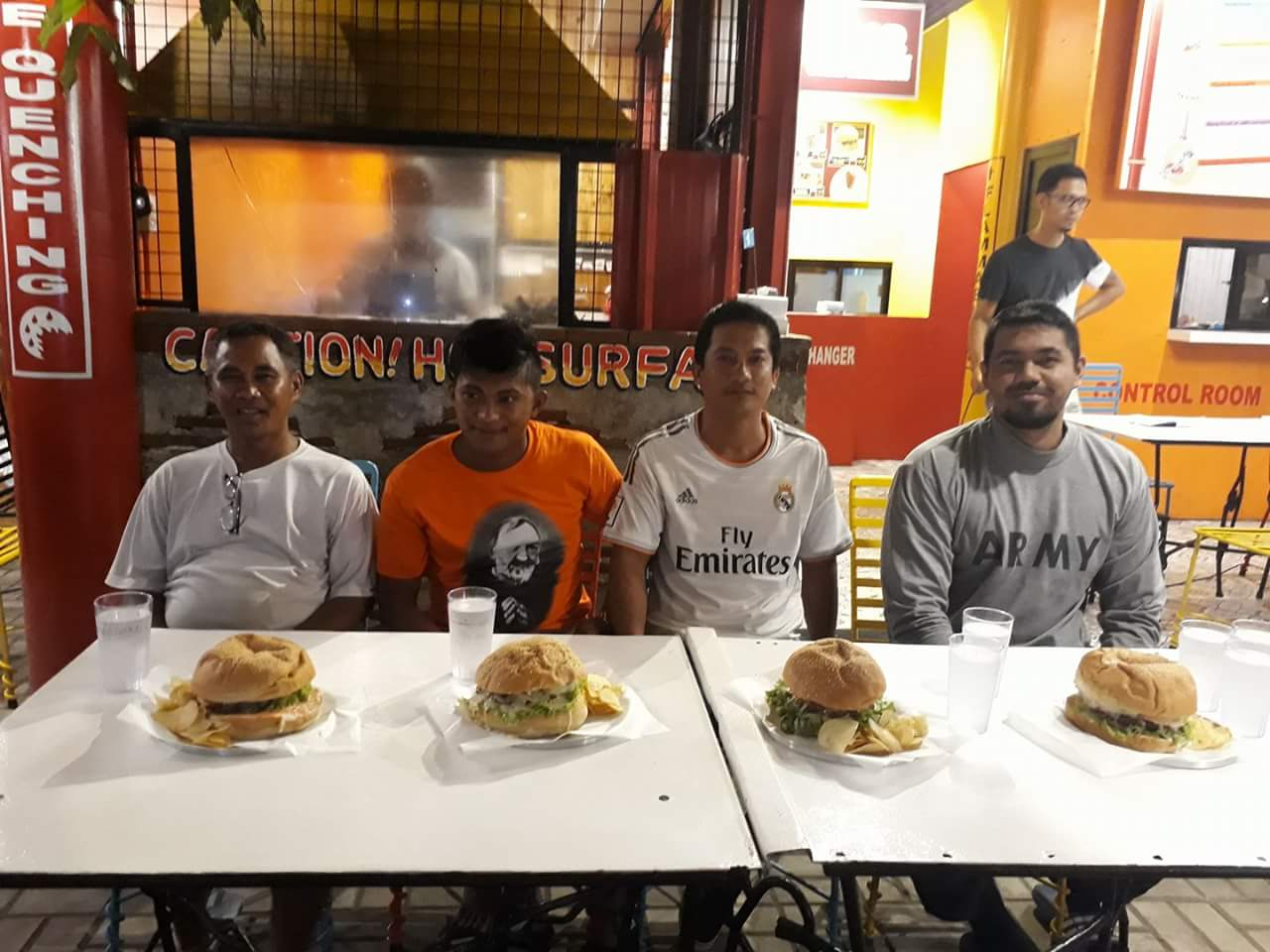 12x8 Pipe Burger Challenge