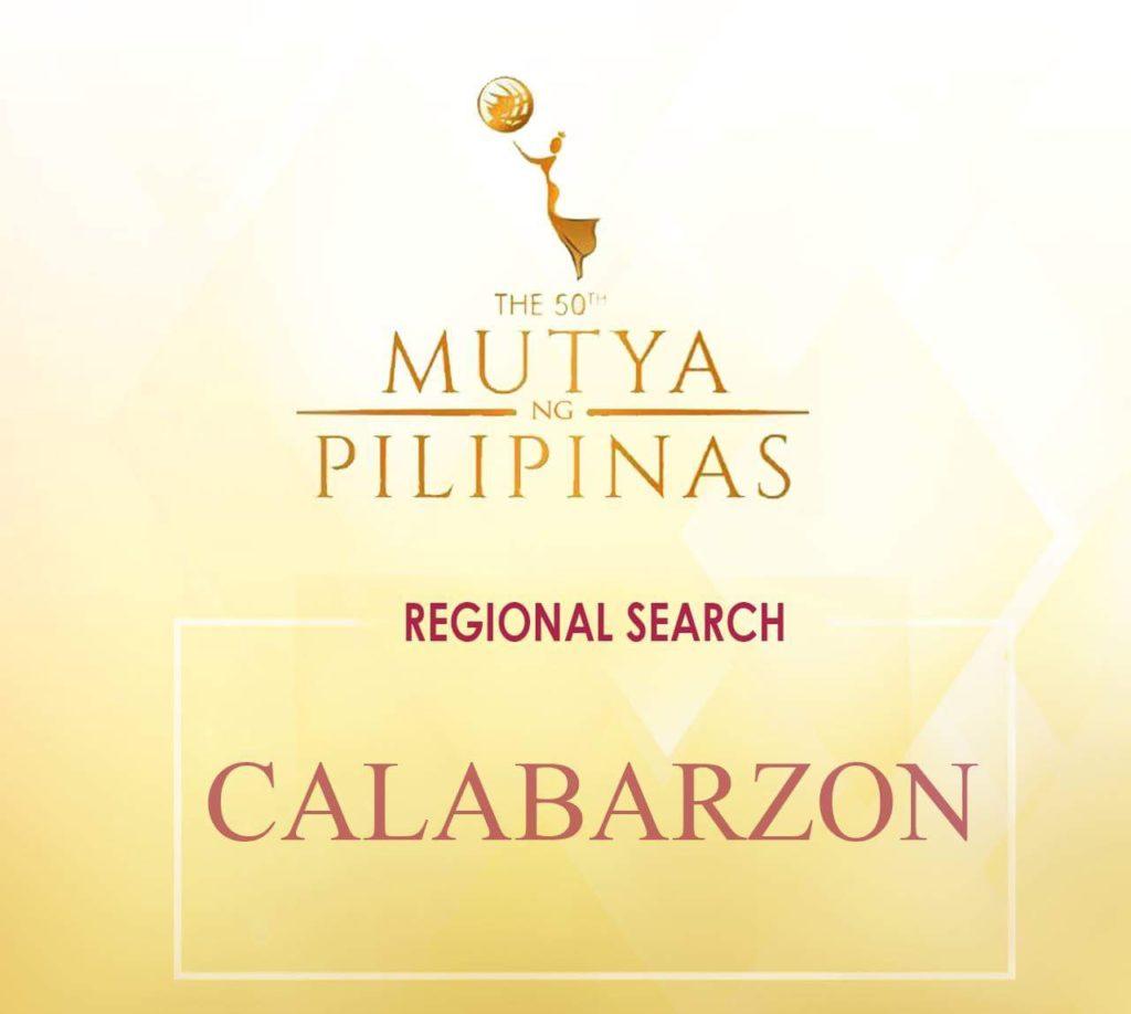 Mutya ng Pilipinas-CALABARZON 2018