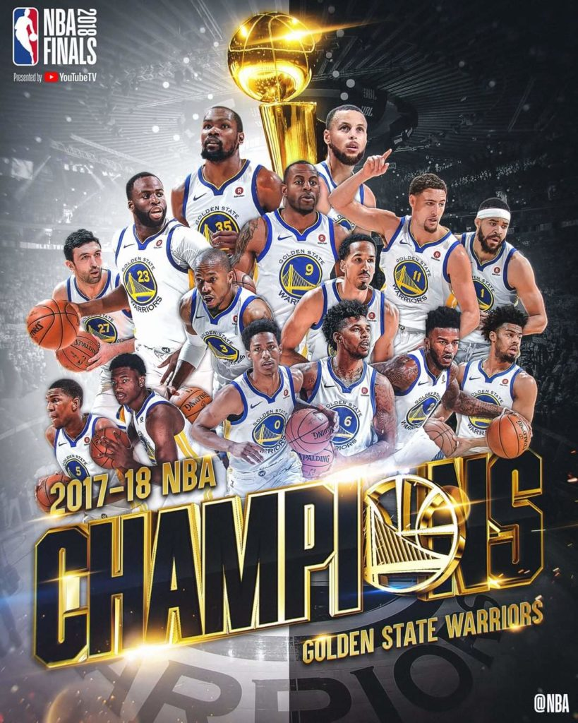 Cleveland Cavaliers Wallpaper >> NBA Finals 2018: Golden State Warriors sweep Cavaliers 108-85 to grab third NBA Finals title in ...
