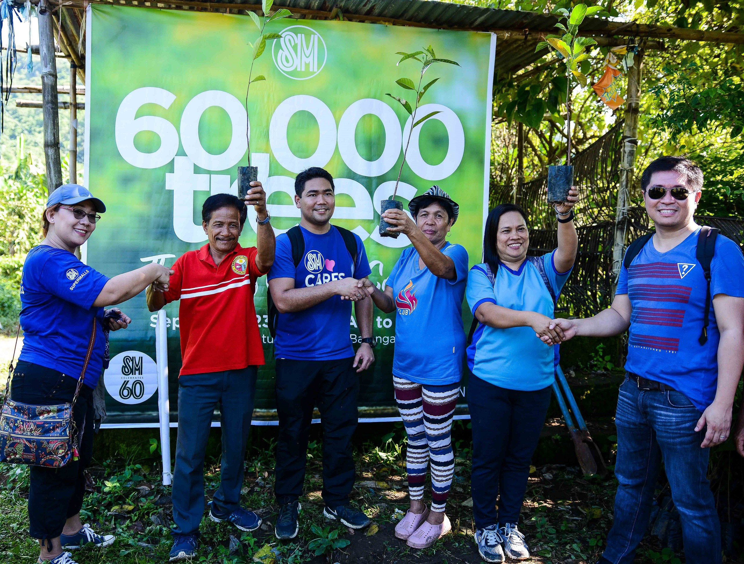 Tree Planting in Mount Batulao